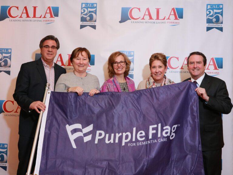 McLean is award the Purple Flag